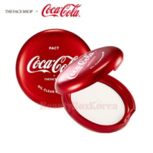 THE FACE SHOP Oil Clear Blotting Pact 9g [Coca Cola Edition],THE FACE SHOP
